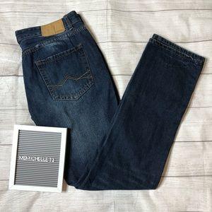 Carbon Mens Sz 36x34 Low Rise Slim Straight Jeans